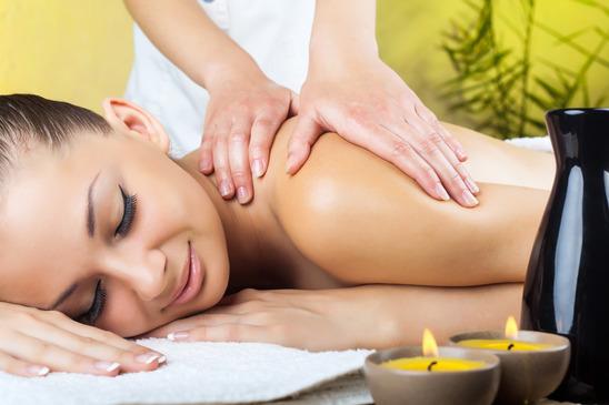 massage met massagekaars